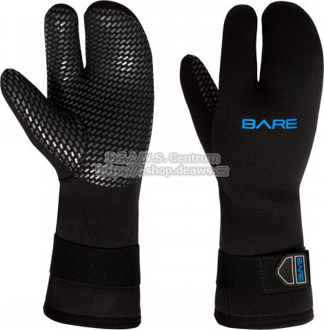 7mm THREE FINGER MITT, Bare