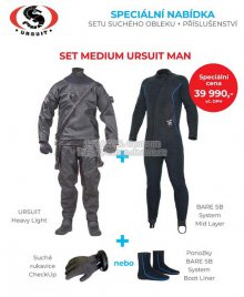 SET MEDIUM URSUIT MAN, Ursuit